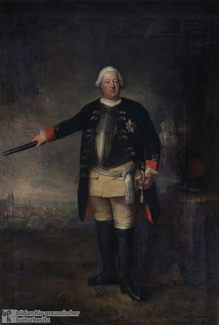 "Frederick William I, Prussia's ""Soldier King"" (1729)"