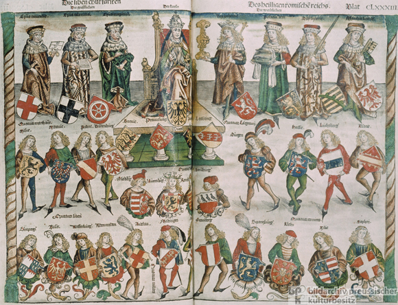 The Holy Roman Emperor and the Imperial Electors (1493)