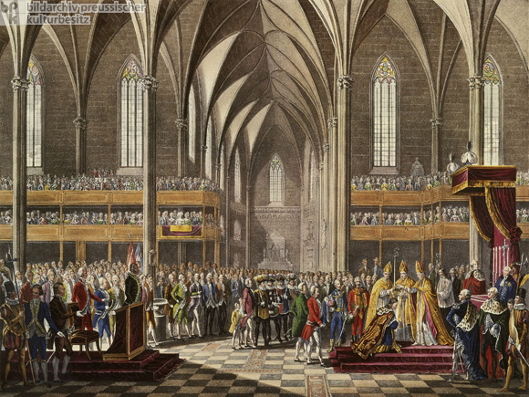 Francis I is Crowned Holy Roman Emperor in Frankfurt am Main on October 4, 1745 (2nd Half of the 18th Century)