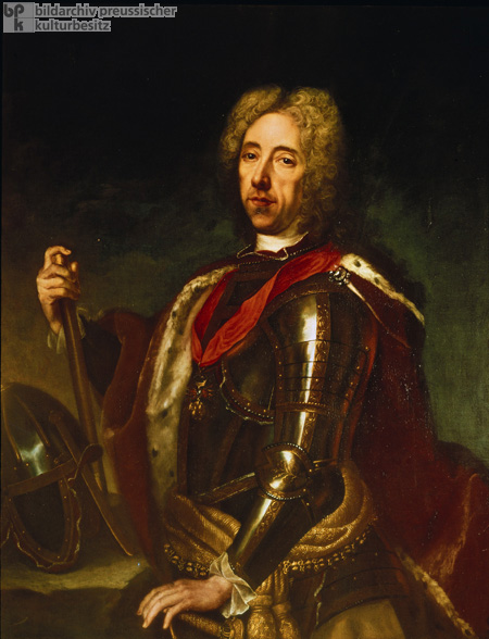 Prince Eugene of Savoy, Austrian Military Commander and Patron of the Arts (c. 1710)