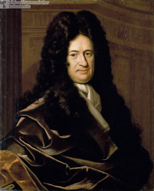 Gottfried Wilhelm Leibniz (Undated Portrait)