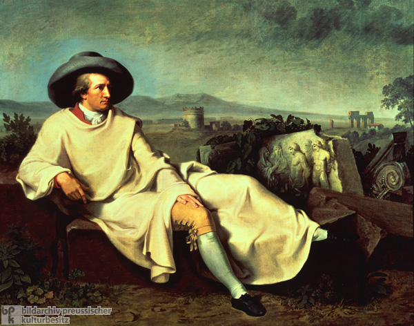 Johann Wolfgang von Goethe in Campagna, Italy (1786-87)