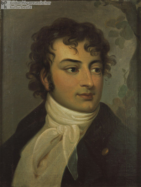 August Wilhelm Schlegel (ca. 1790)