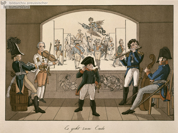 The End of the Napoleonic Drama (1814)