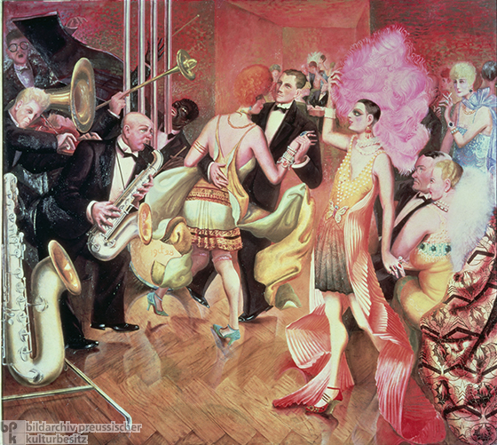 Otto Dix, Center Panel of <i>Metropolis</i> (Triptych) (1927-28)