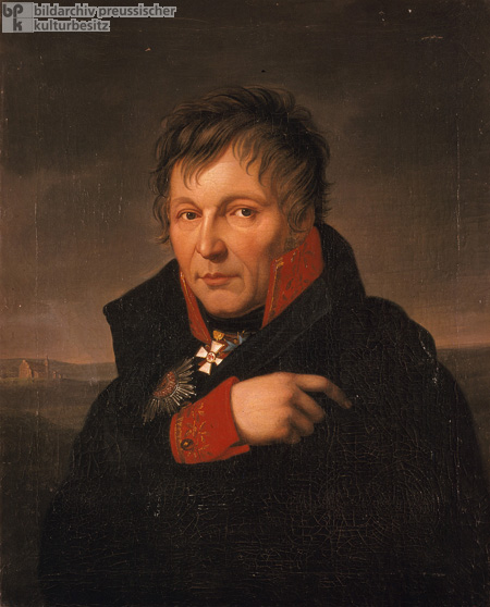 Prussian General Gerhard Johann David von Scharnhorst (before 1813)