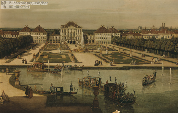 View of Nymphenburg Palace from the Park Side (c. 1761)