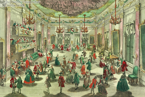 Raree-Show Images of a Noblemen's Ball (c. 1730)
