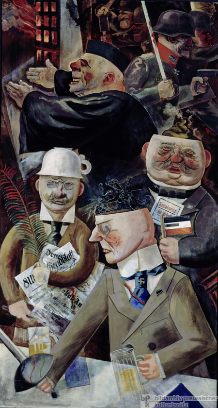 Georg Grosz, <i>Pillars of Society</i> (1926)