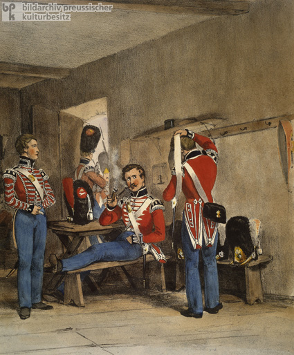 Kingdom of Hanover – Grenadiers of the Guard, Drummer, and Common Soldiers (c. 1835)