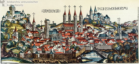 Bamberg around 1500 (1493)