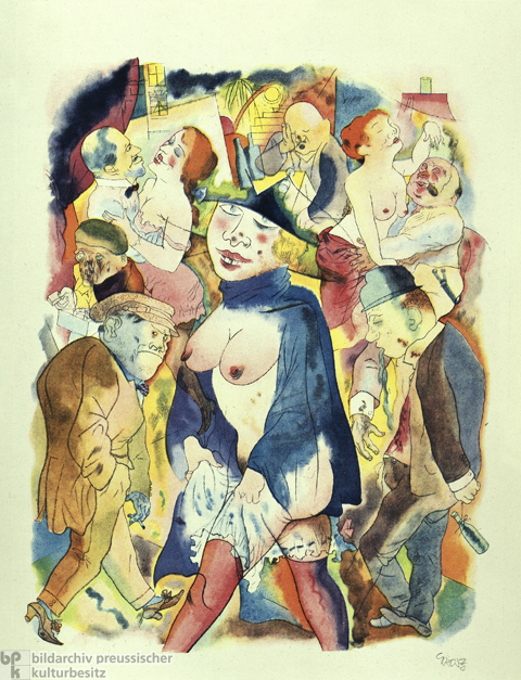 George Grosz, <i>Waltz Dream</i> (1921)