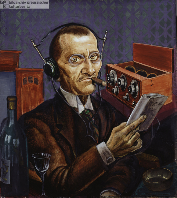 Kurt Günther, <i>The Radioist</i> (1927)