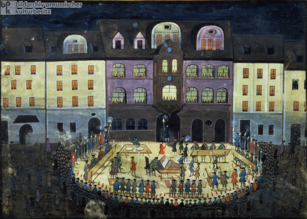 Evening Music at a Hamburg Musical College (c. 1740)