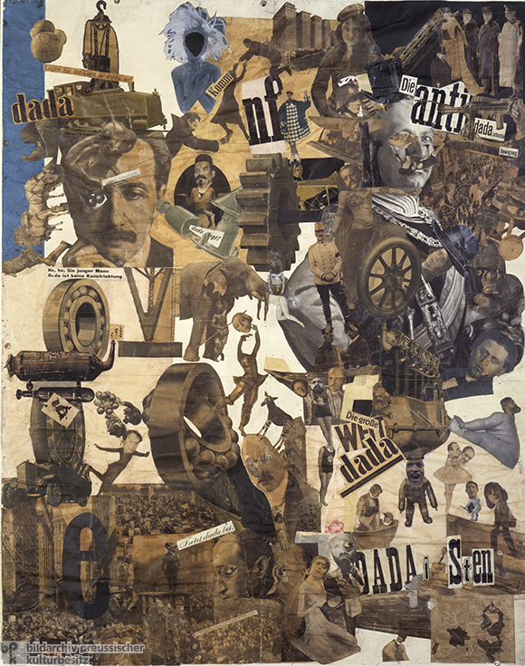 Hannah Höch, <i>Cut with the Dada Kitchen Knife through the Last Weimar Beer-Belly Cultural Epoch in Germany</i> (1919)