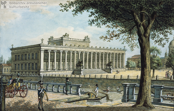 The Old Museum [<I>Altes Museum</i>] in Berlin (c. 1825)