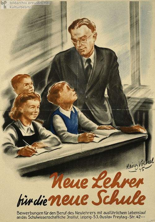 """New Teachers for the New Schools"" (1945)"