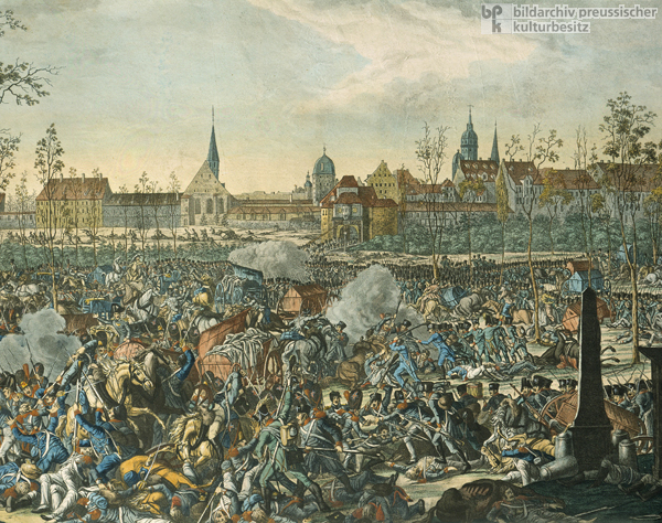 The Battle of Nations in Leipzig on October 19, 1813 (after 1813)