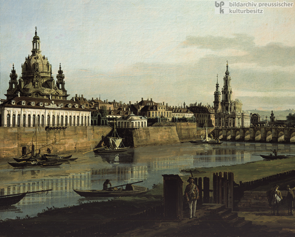 View of Dresden from the Right Bank of the Elbe (1748)