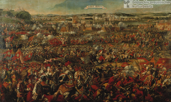 The Battle of Kahlenberg: Imperial Troops Defeat the Turks on September 12, 1683 (Late 17th Century)