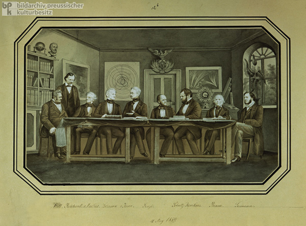 Conference of Members of the German Academy of Natural Sciences (Leopoldina) in Jena (1859)