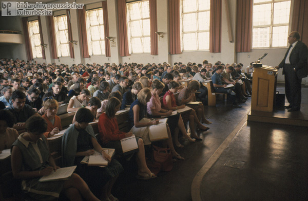 Lecture at the University of Bonn (1967)