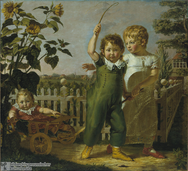 Philipp Otto Runge, <I>The Hülsenbeck Children</i> (1805-06)
