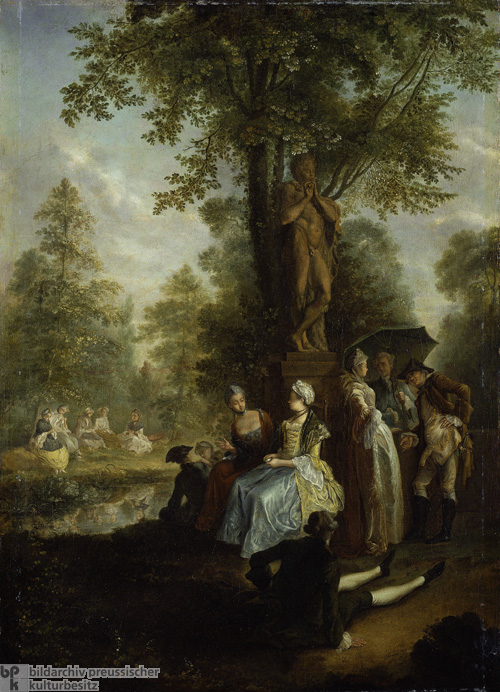 A Party in Berlin's <I>Tiergarten</i> (c. 1770)