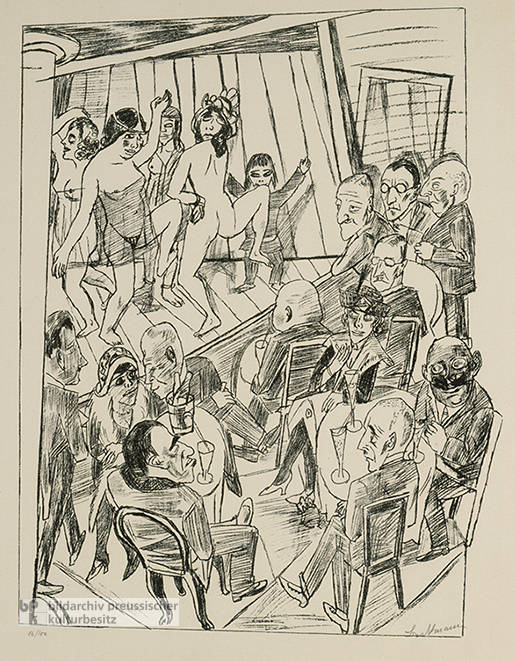Max Beckmann, <i>Nude Dance</i>, from the &quot;Berlin Travels&quot; Cycle (1922)