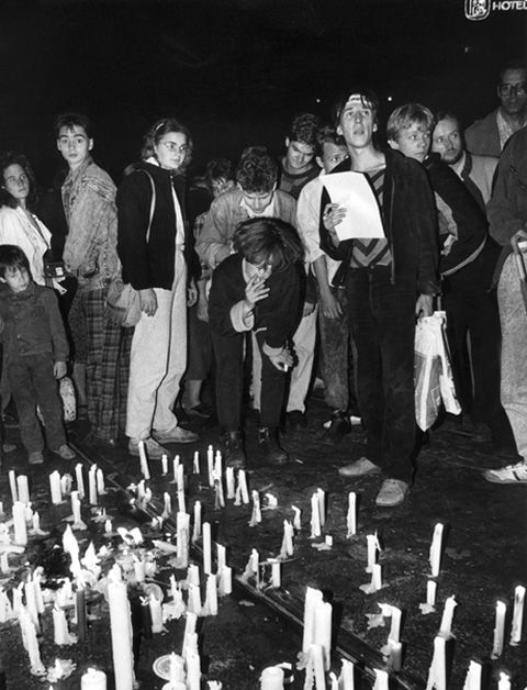 Candles as a Symbol of Nonviolence (October 23, 1989)