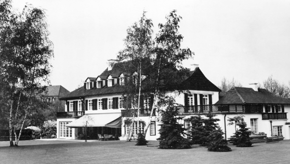 Ribbentrop Villa on Lentzeallee in Berlin-Dahlem (1930s)