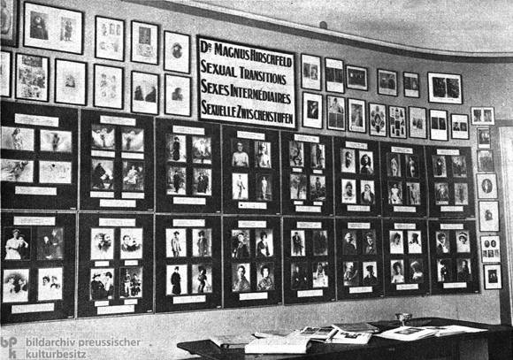 Magnus Hirschfeld Archive in the Institute for Sexual Research in Berlin (1925)