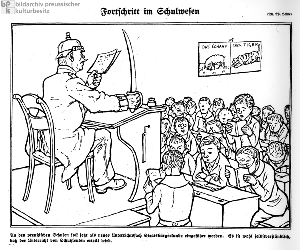Advances in the Educational System (1910-11)