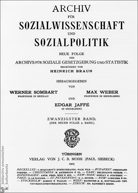 Archive for Social Science and Policy (1905)