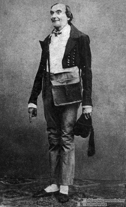 Johann Nepomuk Nestroy in One of His Own Plays (1860)