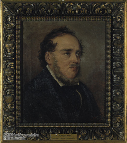 Portrait of Friedrich List (1839)