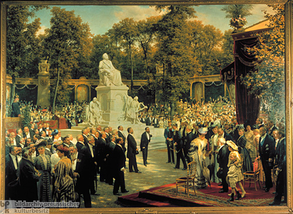 Anton von Werner, <i>The Unveiling of the Richard Wagner Monument in Berlin</i> (1908)