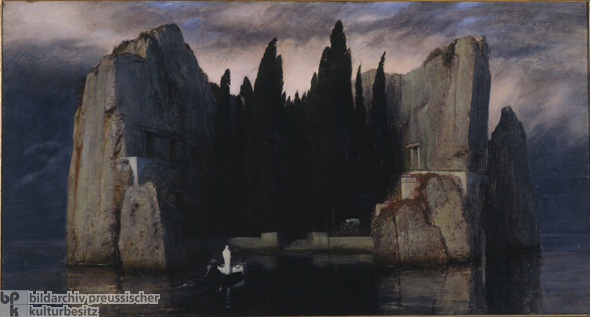 Arnold Böcklin, <i>Island of the Dead</i> [<i>Die Toteninsel</i>] (1883)
