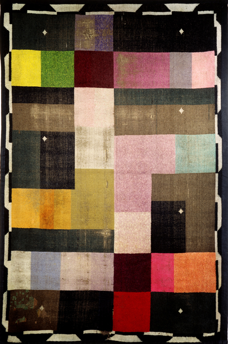Ida Kerkovius, Carpet with Black Background (1923)