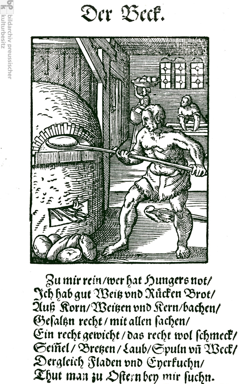 Urban Trades – The Baker (1568)