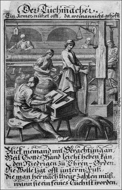 The Cloth Maker (1698)