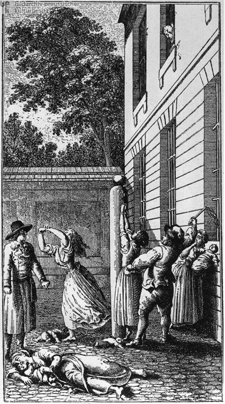 Flogging of a Woman (1783)