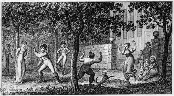 Open Air Dance (c. 1810)