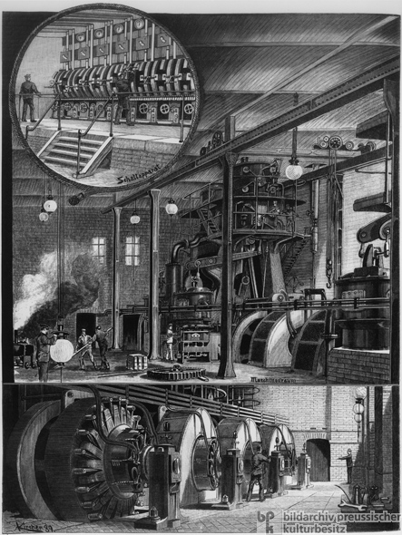 Berlin's Central Power Station (1890)