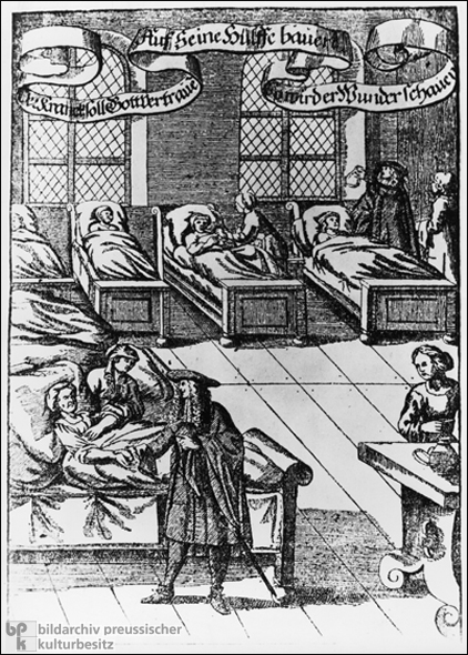 Rounds in the Sick Ward (c. 1680)