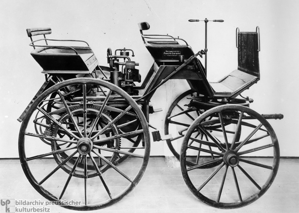 Gottlieb Daimler's First Automobile (March 8, 1886)