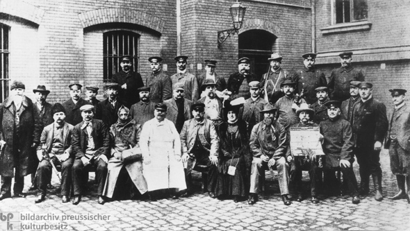 Undercover Agents of the Berlin Police (1913)