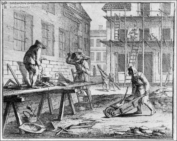 Masons and Bricklayers (c. 1750)