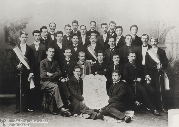 A Jewish Students' Association (c. 1900)