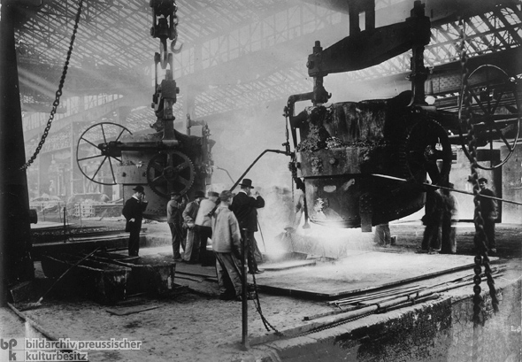 A Visit to the Krupp Steel Works (c. 1910)